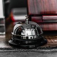 campana del servizio alberghiero foto
