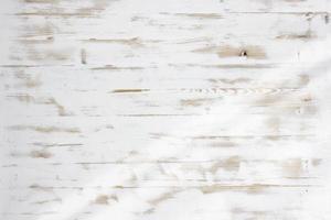 vecchio fondo di legno bianco foto
