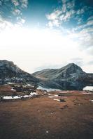 lago di covadonga nelle asturie