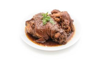 coscia di maiale in umido