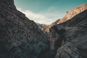 vetta più alta della catena montuosa