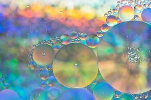 acqua e olio, sfondo astratto