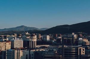 paesaggio urbano del centro della Macedonia del Nord