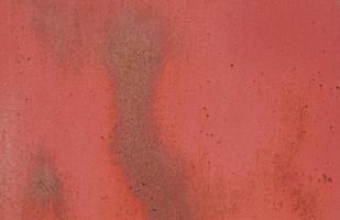 struttura della parete minimalista in acciaio ossido rosso foto