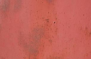 struttura della parete minimalista in acciaio ossido rosso