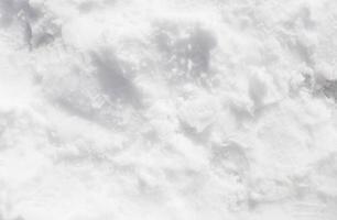 struttura della neve bianca foto