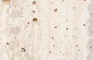 struttura del muro di cemento beige foto