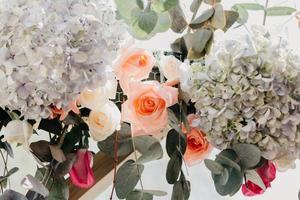 primo piano di un bouquet