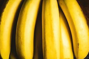 primo piano delle banane