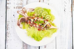 calamari piccanti al limone