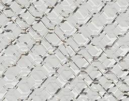 struttura in acciaio cancello astratto