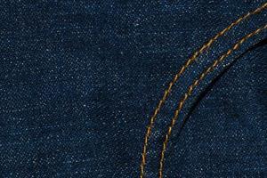 primo piano del tessuto dei jeans