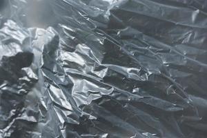 sfondo di plastica grigia