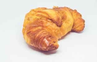 primo piano di un croissant foto