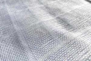 sfondo bianco trama di tessuto da vicino