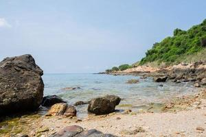 vista panoramica sul mare in estate