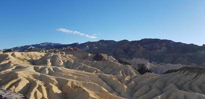 Death Valley durante il giorno foto