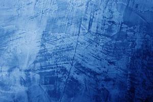 sfondo blu muro di cemento foto