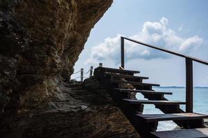 rocce in riva al mare