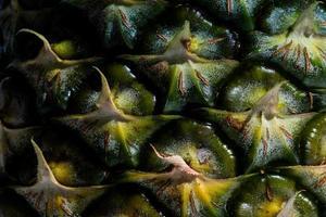 corteccia di ananas verde foto