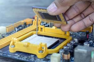 tecnico aggiornamento computer cpu