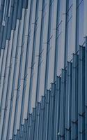 Salt Lake City, Ut, 2020 - Edificio in cemento bianco e blu