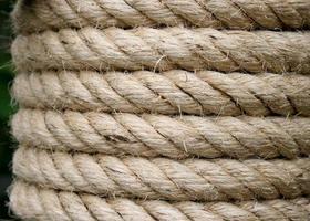 sfondo di corda ruvida foto