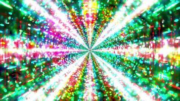 incandescente lampeggiante iper spazio galassia 3d illustrazione sfondo carta da parati design opere d'arte foto