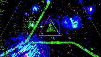 incandescente multi spazio colorato fantascienza design opere d'arte sfondo carta da parati foto