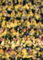 bokeh luci colorate
