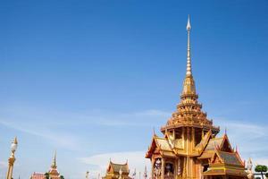 tempio buddista in Tailandia foto