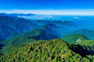vista aerea di dasyueshan durante il giorno foto