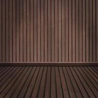 pavimento in legno vuoto e stanza