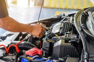controllo e pulizia del motore