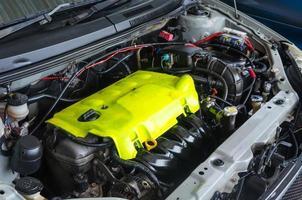 dettaglio del motore dell'automobile