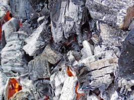 trama di carbone all'aperto foto