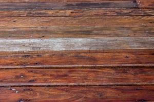 muro di doghe in legno per lo sfondo foto
