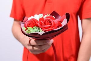 bouquet di San Valentino foto