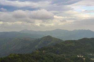 paesaggio forestale in thailandia