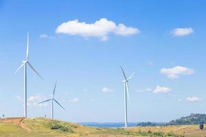 turbine eoliche per la generazione di energia