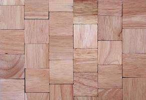 catasta di legname quadrato foto