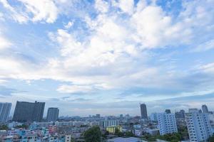 edifici nel centro di bangkok