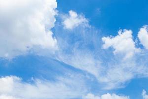nuvole e cielo azzurro