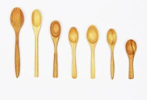 set di cucchiai di legno