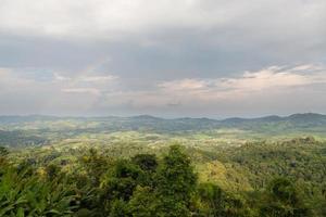 zona agricola in montagna