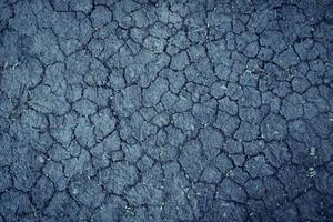 terra secca incrinata per sfondo astratto foto