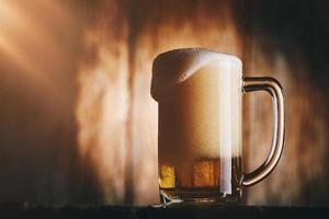 boccale di birra foto