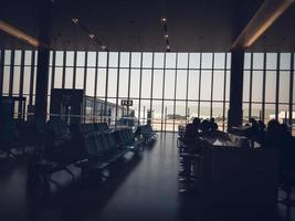 aeroporto di shanghai hongqiao foto