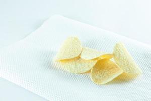 patatine sul tessuto