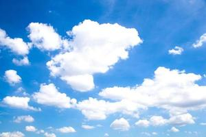 nuvole e cielo